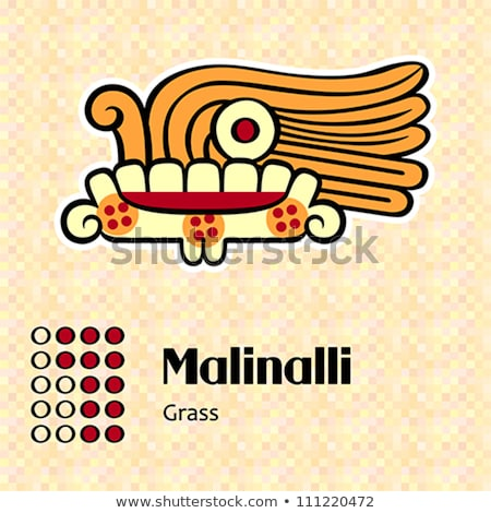 Aztec symbol Malinalli Stock photo © sahua