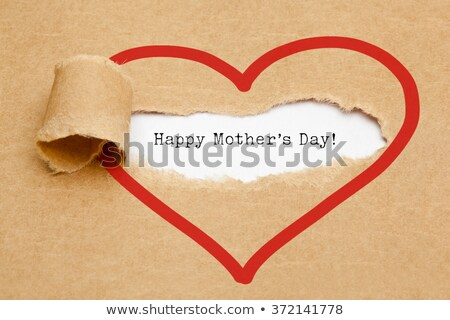 typewriter happy mothers day stock photo © ivelin