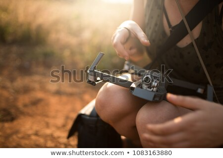 Woman with a mini chopper Stock photo © photography33