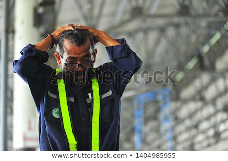 Worried manual worker Stock photo © photography33