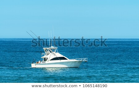 Bay for fishing boats Stock photo © mahout