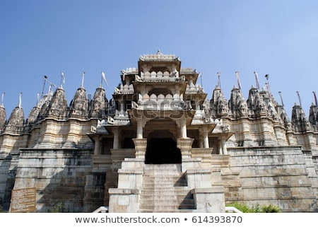 sculpture on hinduism ranakpur temple in india Stock photo © Mikko