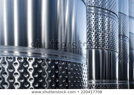 現代 ワイナリー 鋼 ワイン 技術 ドリンク ストックフォト © Bertl123