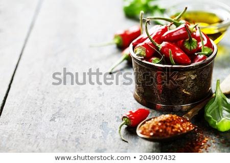 Picante alimentos ingredientes inicio comida frescos Foto stock © bendicks