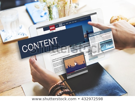 Content Marketing Stock photo © ivelin