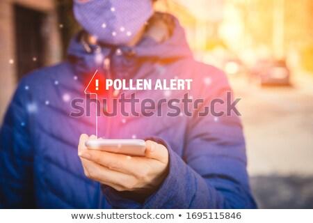 花粉 微視的 穀類 グループ オーガニック 粒子 ストックフォト © Lightsource