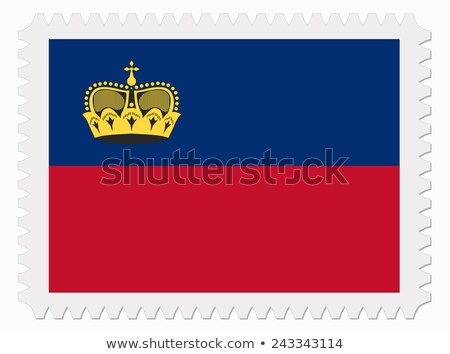 liechtenstein postage stamp stock photo © hofmeester