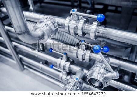 Ipari szelep fém ipar gyár acél Stock fotó © njaj
