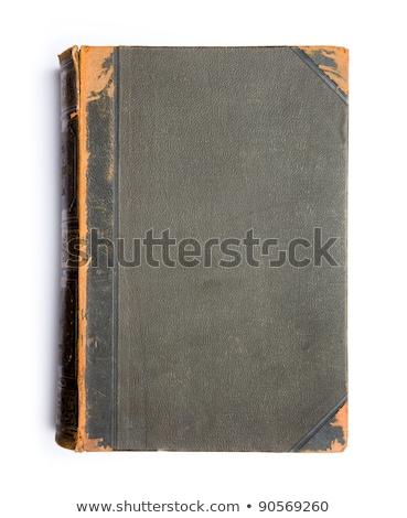 古本 孤立した 白 図書 学校 聖書 ストックフォト © compuinfoto