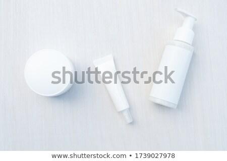 Cream tube isolated on white Stock photo © ozaiachin