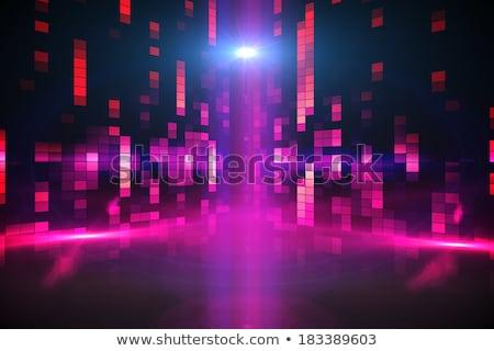 デジタル 生成された ナイトライフ 人 ダンス ヤシの木 ストックフォト © wavebreak_media