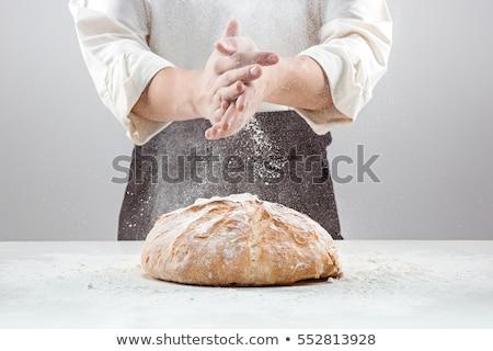 рук мучной кухне хлебобулочные Сток-фото © wavebreak_media