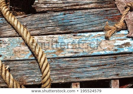 barco · pequeño · playa - foto stock © latent