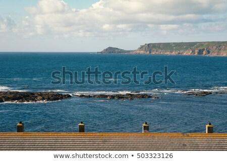 phare · pier · plage · paysage · mer · océan - photo stock © chris2766