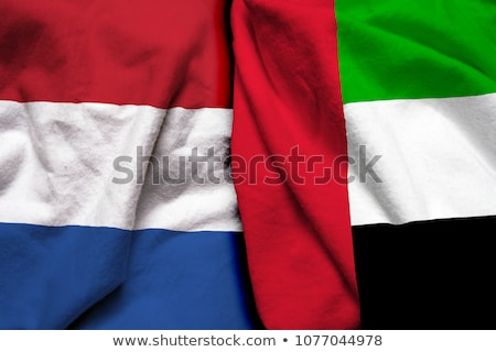 united arab emirates and netherlands flags stock photo © istanbul2009