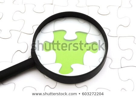 Rules - Jigsaw Puzzle with Missing Pieces. Stock photo © tashatuvango