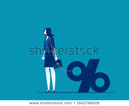 business woman with the noose Stock photo © dolgachov