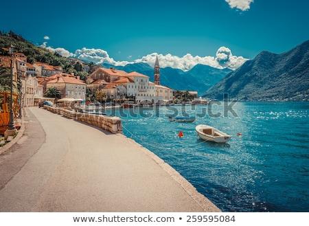 cloudly day on the Adriatic coast stock photo © vlaru