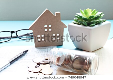 Model of house on books Stock photo © Paha_L