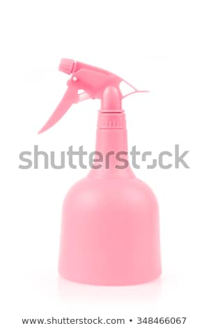 Pink plastic foggy spray bottle isolated on white background Stock photo © punsayaporn