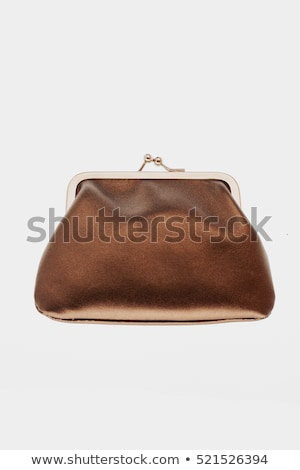 brown purse with banknotes Stock photo © Mikko