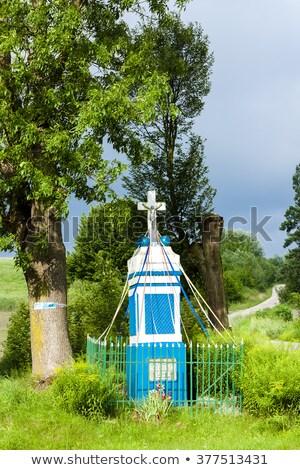 Wayside, Kuyavia-Pomerania, Poland Stock photo © phbcz