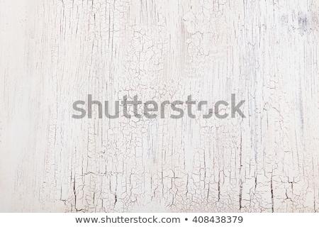 peinture · fissures · pas · détail · bâtiment · blanche - photo stock © meinzahn