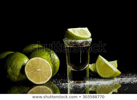 Um tequila tiro cal Foto stock © dashapetrenko