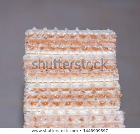 Zdjęcia stock: Orzech · ziemny · opłatek · cookie · świeże · owoce · drewna · czekolady