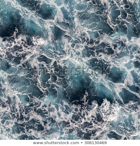 Seawater with sea foam as seamless background Stock photo © smuki