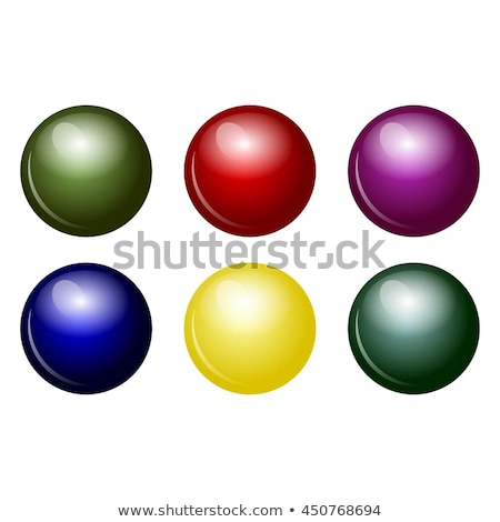 Six colourful balls Stock photo © bluering