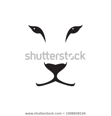 lion cartoon vector illustration clip art image stock photo © vectorworks51