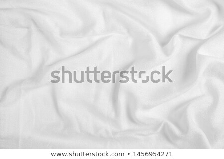 Utilizado cama textura limpio blanco algodón Foto stock © stevanovicigor