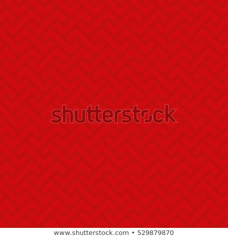 Neutral geometric seamless red pattern Stock photo © almagami