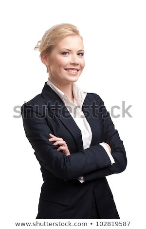 businesswoman in black jacket Stock photo © gravityimaging