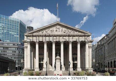 Stok fotoğraf: Londra · kraliyet · değiştirme · Bina · financial · district · gökyüzü