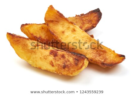 potatoes rustic on white background stock photo © conceptcafe