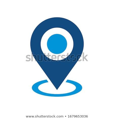 Megcélzott ikon terv üzlet marketing izolált Stock fotó © WaD