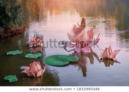 water · fairy · mooie · vrouw · meisje · bos - stockfoto © gsermek