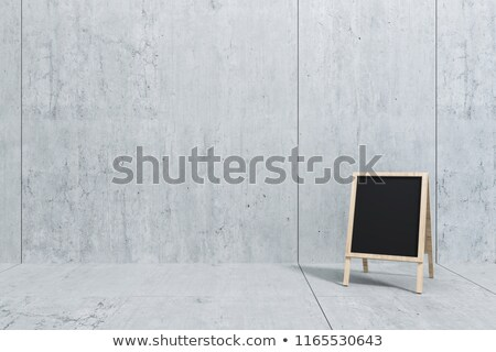 Website Design - Text on Black Chalkboard. 3D Rendering. Stock photo © tashatuvango