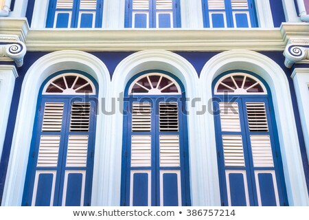 Old mediterranean style building facade Stock photo © stevanovicigor