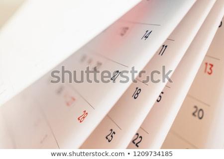lembrete · ilustração · data · projeto · tempo - foto stock © get4net