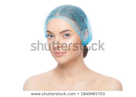Quirúrgico operación azul desgaste establecer médico Foto stock © toyotoyo