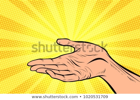 human hand presentation gesture Stock photo © studiostoks