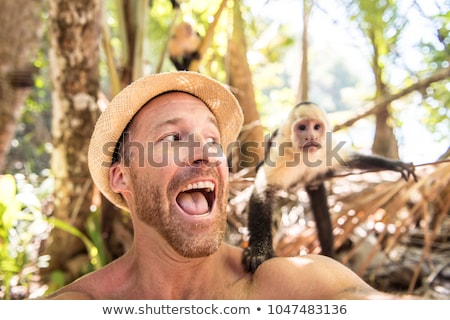 Сток-фото: мужчин · туристических · автопортрет · обезьяны · горные · лет