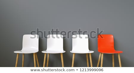 Hiring Concept With An Empty Chair Stock photo © AndreyPopov