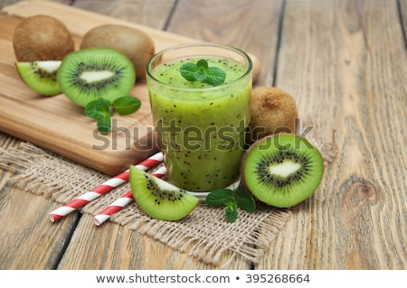 kiwi smoothie Stock photo © tycoon