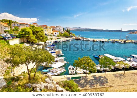 Brodarica village on Adriatic sea stock photo © xbrchx