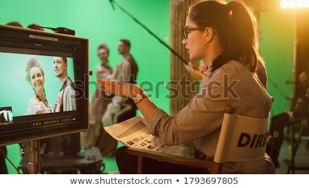 Vrouwelijke directeur jonge geslaagd ceo elegante Stockfoto © pressmaster