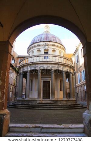 Tempietto in San Pietro in Montorio, Rome  Stock photo © borisb17